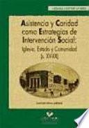 libro Asistencia Y Caridad Como Estrategias De Intervención Social