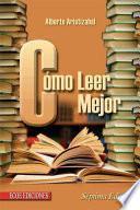 Cómo Leer Mejor