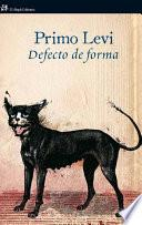 libro Defecto De Forma