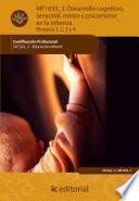 libro Desarrollo Cognitivo, Sensorial, Motor Y Psicomotor En La Infancia. Ssc322_3
