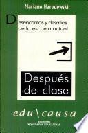 libro Después De Clase