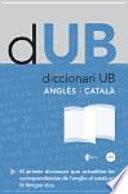 Diccionari Ub. Anglès Català