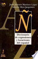 libro Diccionario De Expresiones Y Locuciones Del Español