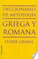 libro Diccionario De Mitología Griega Y Romana