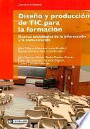 libro Diseño Y Producción De Tic Para La Formación