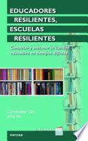 libro Educadores Resilientes, Escuelas Resilientes