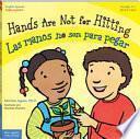 libro Hands Are Not For Hitting / Las Manos No Son Para Pegar