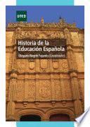 libro Historia De La Educación Española