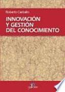 libro Innovación Y Gestión Del Conocimiento