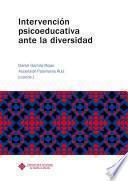 libro Intervención Psicoeducativa Ante La Diversidad