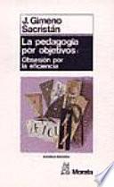 libro La Pedagogía Por Objetivos