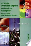 libro La Relación Universidad Empresa En Materia De Investigación