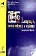 libro Lenguaje, Pensamiento Y Valores