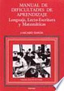 Manual De Dificultades De Aprendizaje