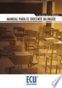 libro Manual Para El Docente Bilingüe