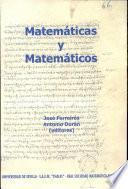 Matemáticas Y Matemáticos