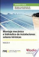Montaje Mecánico E Hidráulico De Instalaciones Solares Térmicas