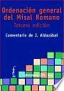 libro Ordenación General Del Misal Romano