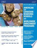 Peterson S American Canadian Boarding Schools And Worldwide Enrichment Programs