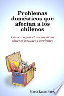libro Problemas Domésticos Que Afectan A Los Chilenos