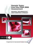 libro Sample Tasks From The Pisa 2000 Assessment