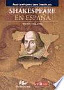 libro Shakespeare En España