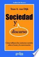 libro Sociedad Y Discurso