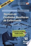 libro Técnico En Cuidados Auxiliares De Enfermería. Temario. Volumen 2. Servicio De Salud De Castilla Y León