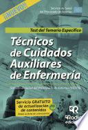 Técnicos De Cuidados Auxiliares De Enfermería Servicio De Salud Del Principado De Asturias (sespa) . Test Del Temario Específico