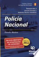 Temario Volumen 2. Policía Nacional