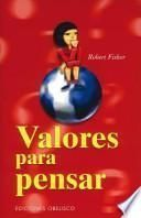 libro Valores Para Pensar