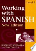 libro Working With Spanish