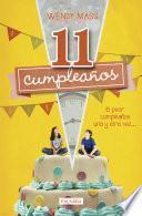 libro 11 Cumpleaños