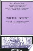 Antiquae Lectiones