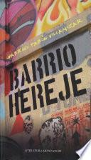 libro Barrio Hereje