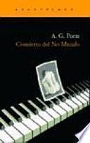 libro Concierto Del No Mundo