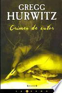 libro Crimen De Autor