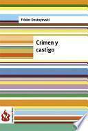 Crimen Y Castigo (low Cost). Edición Limitada