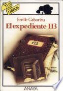 libro El Expediente 113