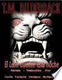 libro El León Duerme Esta Noche