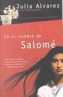 libro En El Nombre De Salomé