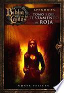 La Biblia De Los Caídos. Tomo 1 Del Testamento De Roja