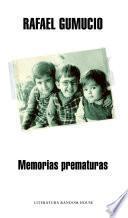 libro Memorias Prematuras
