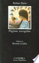 libro Páginas Escogidas