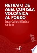 Retrato De Abel Con Isla Volcánica Al Fondo