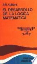 libro El Desarrollo De La Lógica Matemática