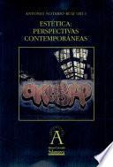 libro Estética: Perspectivas Contemporáneas