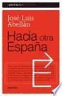 libro Hacia Otra España