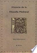 libro Historia De La Filosofía Medieval