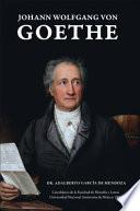 libro Johann Wolfgang Von Goethe
